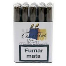 Canaritos - Tubos Puros 10 Stück Zigarren produziert auf Teneriffa
