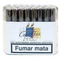 Canaritos - Tubos Puros 25 Stück Zigarren produziert auf Teneriffa