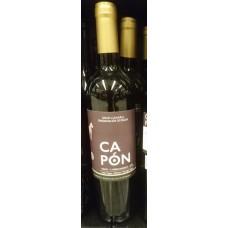 Capon - Vino Tinto 3 Meses Barrica Ecologico Bio-Rotwein trocken Eichenfassreifung 14% Vol. 750ml produziert auf Gran Canaria