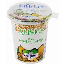Celgan - Yogur Alisios con Mango Papaya Bio Becher 400g produziert  auf Teneriffa (Kühlware)