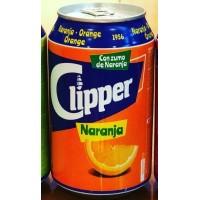 Clipper - Naranja Lemonada Orange Limonade 330ml Dose produziert auf Gran Canaria