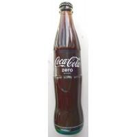 Coca-Cola Zero Konturflasche Kronkorken Glasflasche 350ml - produziert auf Teneriffa (Tacoronte)