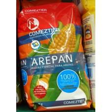 Comeztier - Arepan Harina Especial para Arepas Mehl für Maisbrot 1kg Tüte produziert auf Teneriffa