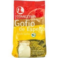 Comeztier - Gofio de Espelta kanarisches Dinkelmehl geröstet 400g Tüte produziert auf Teneriffa