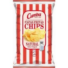 Cumba - Papas Fritas Natural Con Sal kanarische Kartoffelchips gesalzen 120g produziert auf Gran Canaria