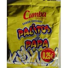 Cumba - Palitos de Papa Sabor Original 20g 10 Tüten produziert auf Gran Canaria