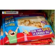 Comeztier - Barrita Snack de Gofio & Limon Riegel 3x25g produziert auf Teneriffa