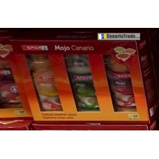 Spar - Mojo Canario 3er Pack Suave, Verde, Picon 3x80g produziert auf Gran Canaria