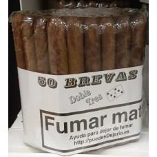 Doble Tres Brevas 50 Puros Zigarren 50 Stück produziert auf Gran Canaria