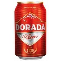 Dorada - Pilsen Bier 4,7% Vol. 330ml Dose produziert auf Teneriffa