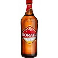Dorada - Pilsen Bier 4,7% Vol.  Glasflasche 750ml 12er-Pack produziert auf Teneriffa