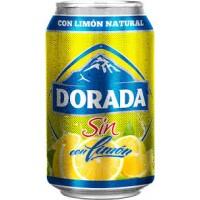 Dorada - Sin Alc. con limon Bier Radler alkoholfrei 6x 330ml Dose produziert auf Teneriffa