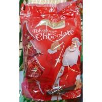 Eidetesa - Polvorones sabor Chocolate Tüte Schokolade 400g (Saisonware Okt-Dez) produziert auf Gran Canaria