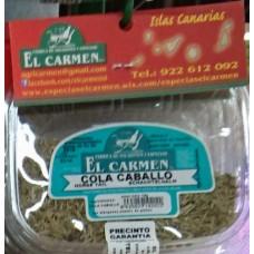 El Carmen - Cola Caballo Schachtelhalm Gewürz 12g produziert auf Teneriffa