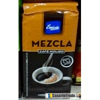 Emicela - Cafè Molido Mezcla Röstkaffee gemahlen 250g Karton produziert auf Gran Canaria
