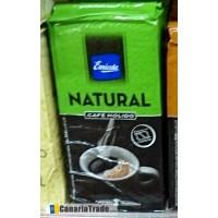 Emicela - Cafè Natural Molido Kaffee gemahlen 250g Karton produziert auf Gran Canaria