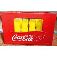 Fanta Naranja Orange Konturflasche Kronkorken 24x Glasflasche 350ml Kasten inkl. Mehrweg-Pfand 7,50 Euro - produziert auf Teneriffa (Tacoronte)