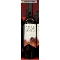 Gran Tehyda - Vino Tinto Rotwein trocken 13,5% Vol. 750ml produziert auf Teneriffa