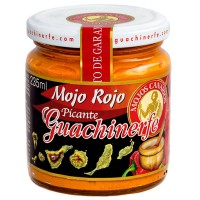 Guachinerfe - Mojo Rojo Picante rote scharfe Mojosauce 235ml produziert auf Teneriffa