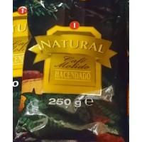 Hacendado - Cafe Molido Natural Nr. 1 Kaffee gemahlen 250g Tüte produziert auf Teneriffa