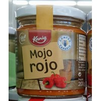 Kania - Mojo Rojo Salsa Sauce 200g produziert auf Teneriffa