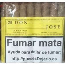 La Rica Hoja - Don Jose 25 Zigarren Islas Canarias produziert auf La Palma