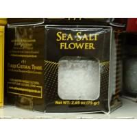 Las Salinas Pozo Izquierdo - Sea Salt Flower Bio Salz 75g Glas produziert auf Gran Canaria