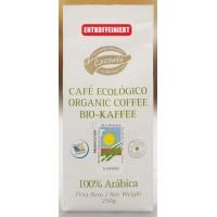 Lezzato - Café Ecologico Descafeinado Bio-Kaffee geröstet entkoffeiniert gemahlen 250g produziert auf Teneriffa