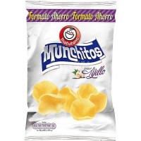 Matutano - Munchitos Chips Ajillo Super Formato Knoblauch 160g produziert auf Gran Canaria