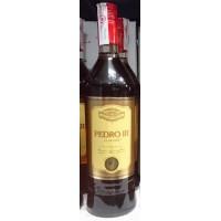 Pedro III El Grande Brandy Weinbrand 1l Glasflasche produziert auf Gran Canaria