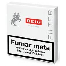 REIG - Filter 20 Cigarritos Zigaretten Schachtel produziert auf Gran Canaria