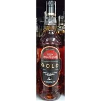 Ron Guateque - Gold Ron brauner Rum 37,5% Vol. 1l Glasflasche produziert auf Teneriffa