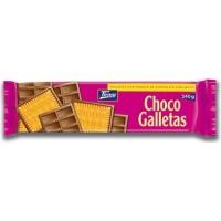 Tirma - Choco Galletas Chocolate con Leche Kekse mit einseitigen Milchschokoladenüberzug 240g (Promotion) produziert auf Gran Canaria