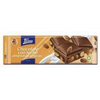 Tirma - Chocolate con Leche Almendras Milchschokolade mit ganzen Mandeln von Tirma 125g produziert auf Gran Canaria