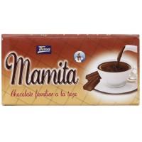 Tirma - Mamita Chocolate Familiar a la Taza Vollmilch-Trinkschokolade als Tafelschokolade 200g produziert auf Gran Canaria