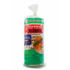 Comeztier - Tortitas de Arroz sin sal Reiswaffeln salzfrei 130g produziert auf Teneriffa