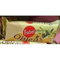 Trabel - Obleas Rellenas Sabor a Vainilla Vanille-Waffeln 90g produziert auf Gran Canaria