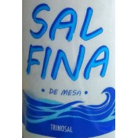Trinosal - Sal Fina de Mesa Meersalz 300g Flasche produziert auf Teneriffa