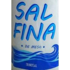 Trinosal - Sal Fina de Mesa Meersalz 750g Flasche produziert auf Teneriffa