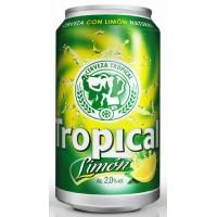 Tropical - Limon Bier Radler 2,6% Vol. 6x 330ml Dose produziert auf Gran Canaria