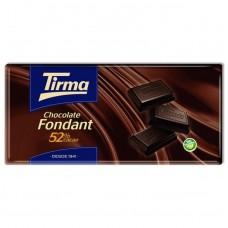Tirma - Chocolate Fondant 52% Cacao Tafel Schokolade 150g produziert auf Gran Canaria