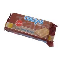 Trabel - Obleas Rellenas de Chocolate Schokowaffeln 90g produziert auf Gran Canaria